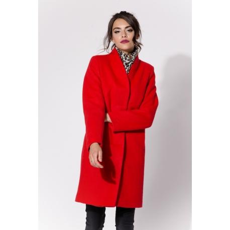 Płaszcz ORI Czerwony